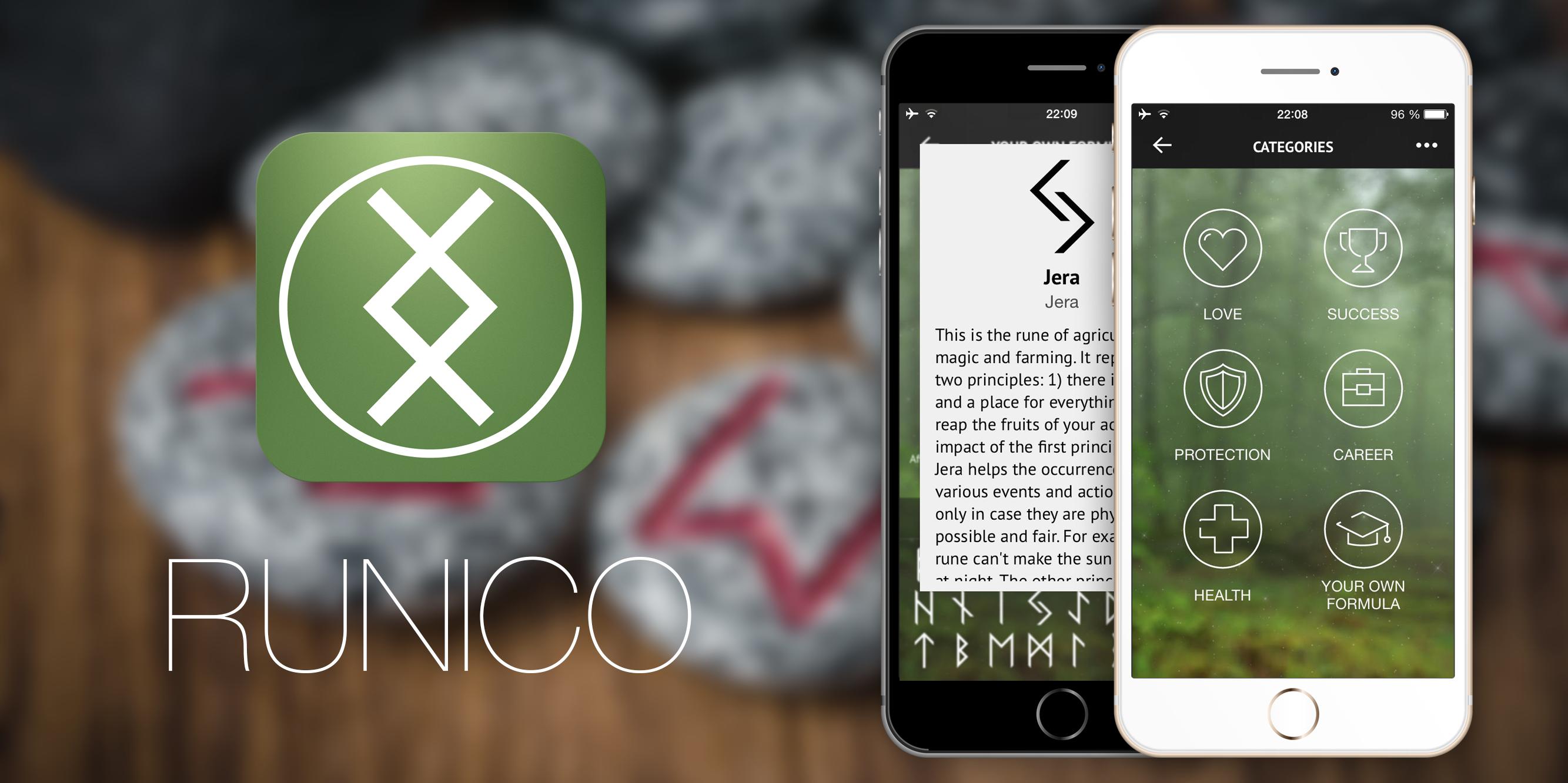 Runico —создай свой рунический талисман прямо в iPhone