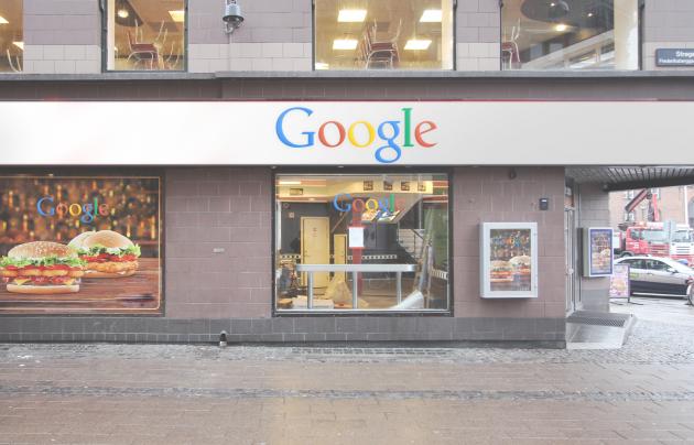 Google открывает собственную сеть фастфуда