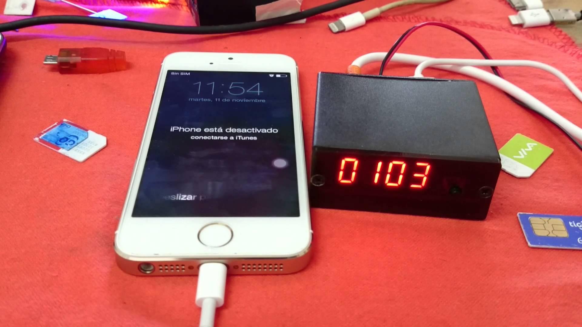 Черный ящик, который сможет взломать пароль любого iPhone за 6 секунд
