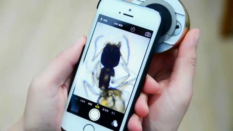 uHandy: превращаем ваш iPhone в карманный микроскоп