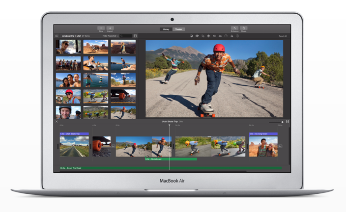 Apple обновила iMovie для OS X 10.10.3