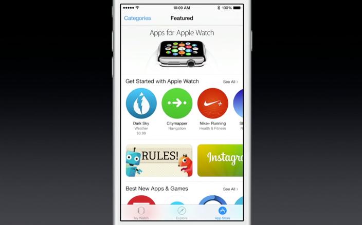 Apple начала принимать в App Store приложения для Apple Watch от сторонних разработчиков