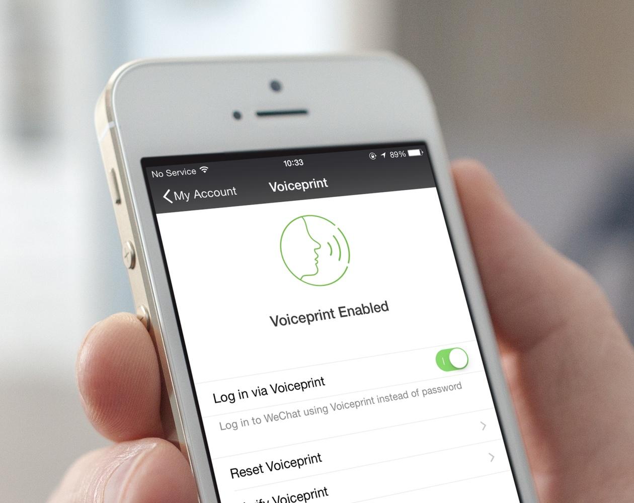 В мессенджере WeChat появилась авторизация с помощью голоса
