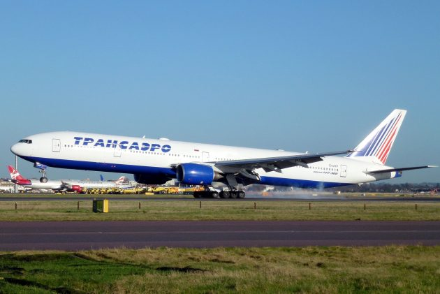Boeing 777-300 компании «Трансаэро»