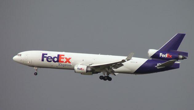 Грузовой McDonnell Douglas MD-11F, используемый FedEx