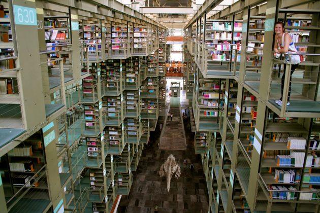 Библиотека имени Хосе Васконселоса