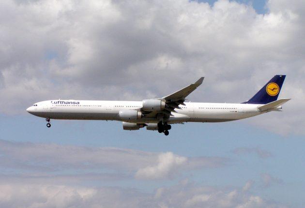 Airbus A340-600 авиакомпании Lufthansa