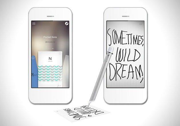 Neo Smartpen: пишите вручную, шарьте из приложения