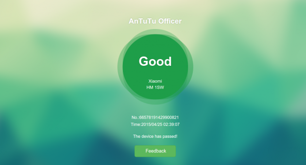 AnTuTu Officer verdict