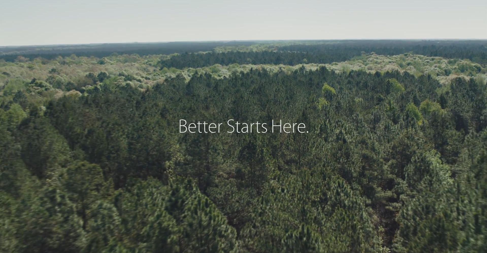 Apple поделилась успехами в сохранении окружающей среды