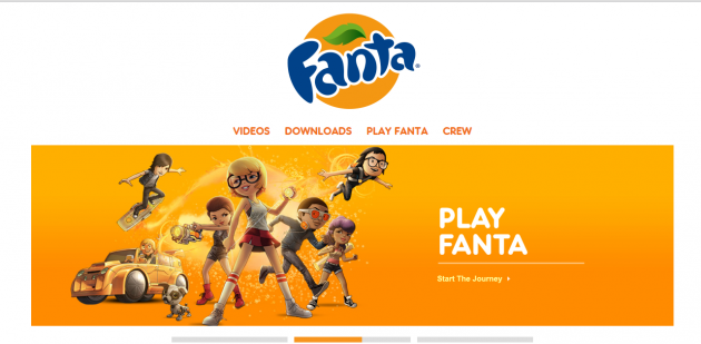 Сайт Fanta