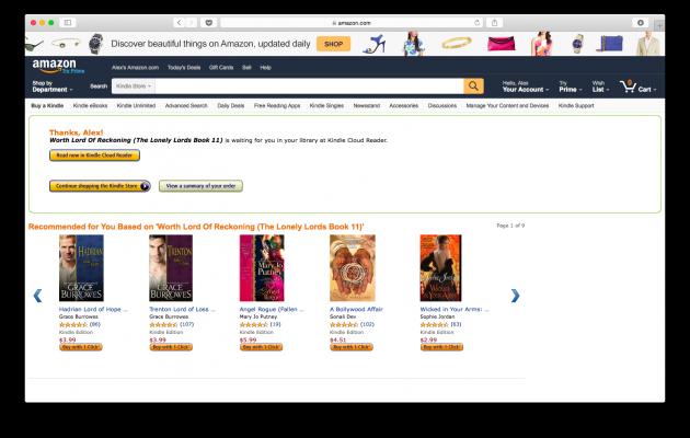 Покупка книги на Amazon