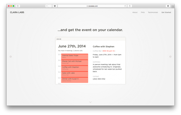 Добавление событий в календарь