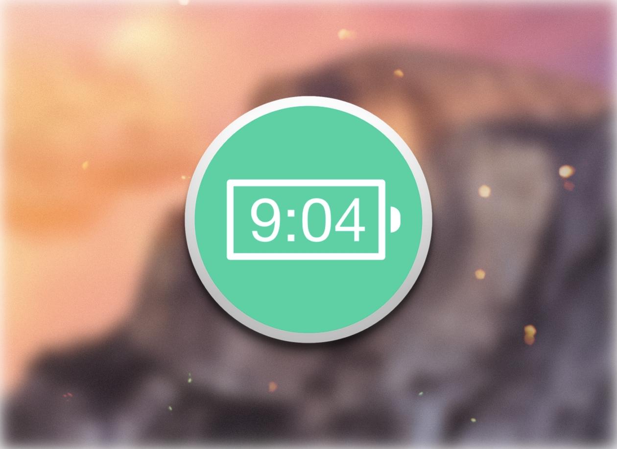 Battery Time Indicator — маленькая, но очень полезная утилита для строки меню OS X