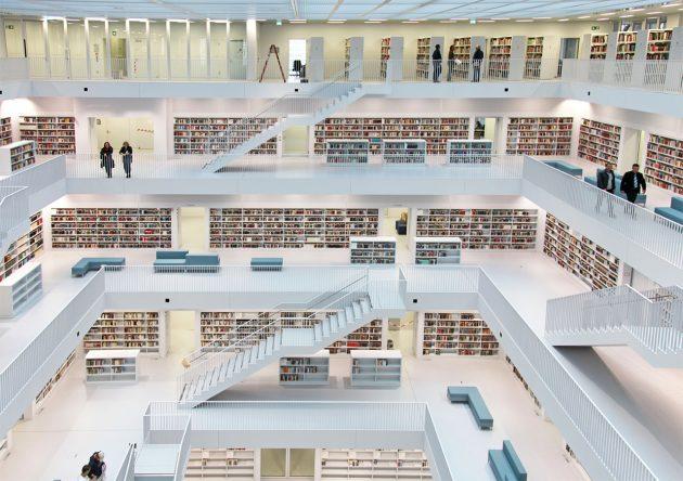 Центральная библиотека Штутгарта