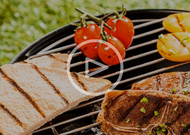 ВИДЕО: Необычные блюда на гриле