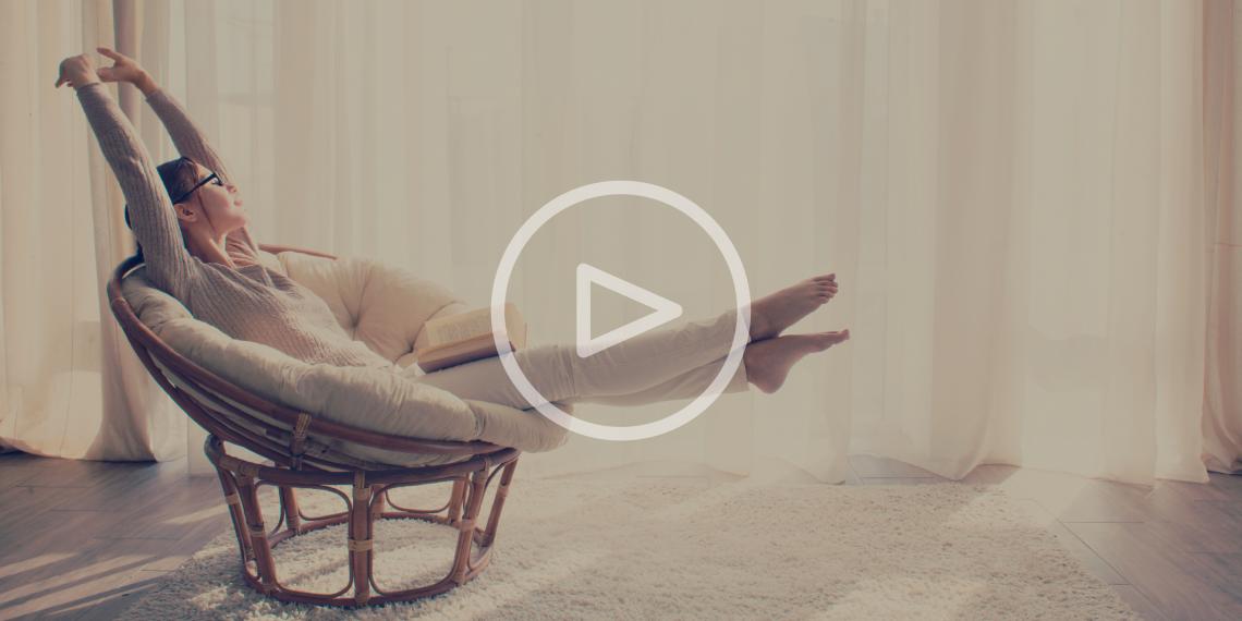ВИДЕО: 3 шага к полному релаксу перед сном