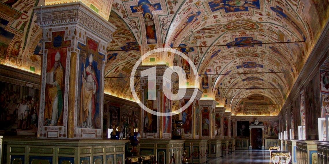 10 библиотек, которые поразят вас больше пирамид и древних развалин