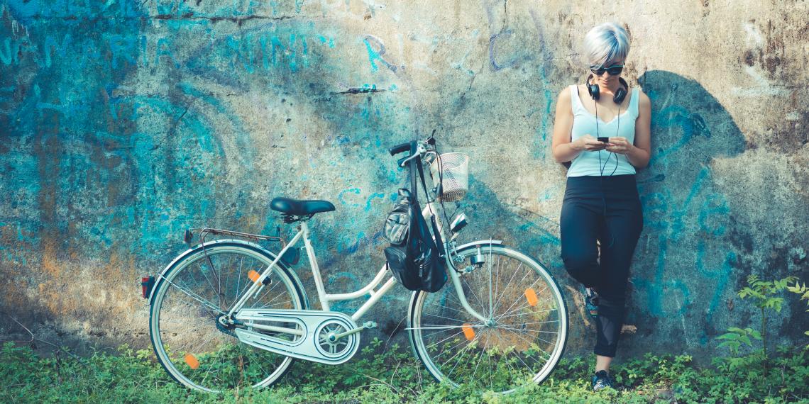 Не покупайте горный велосипед для езды по городу!