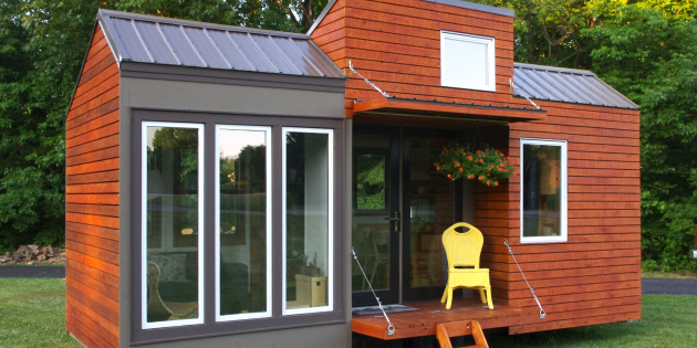 Проект hOMe научит как построить недорогой загородный дом на колёсах