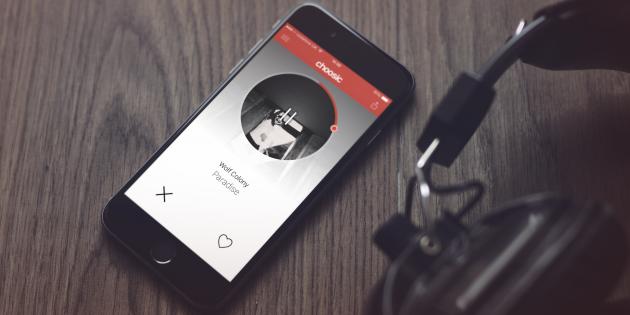 Choosic ищет новую музыку по вашим предпочтением (iOS)