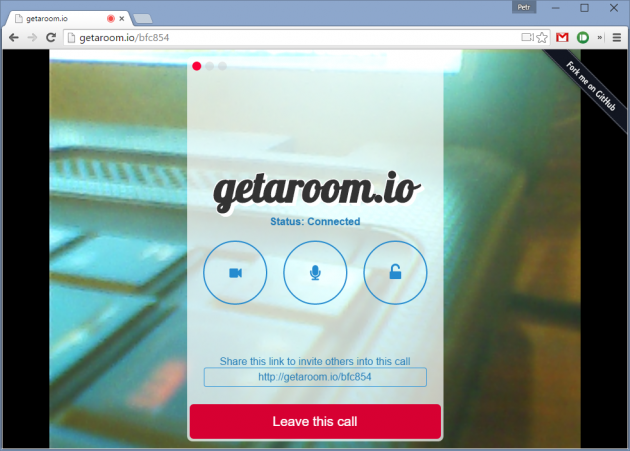getaroom.io - видео-звонки без регистрации и оплаты