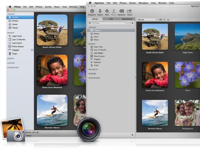 Apple удалила из Mac App Store приложения iPhoto и Aperture
