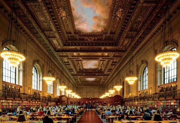 Нью-Йоркская публичная библиотека