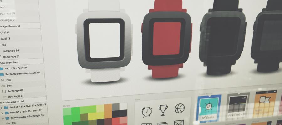 Как будут выглядеть приложения для умных часов Pebble Time
