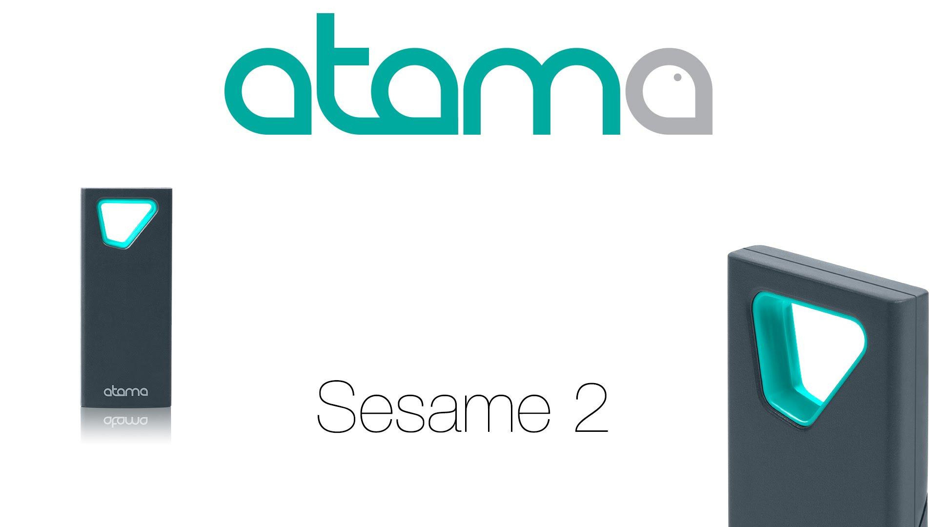 Sesame 2: Миниатюрный брелок для блокировки Mac