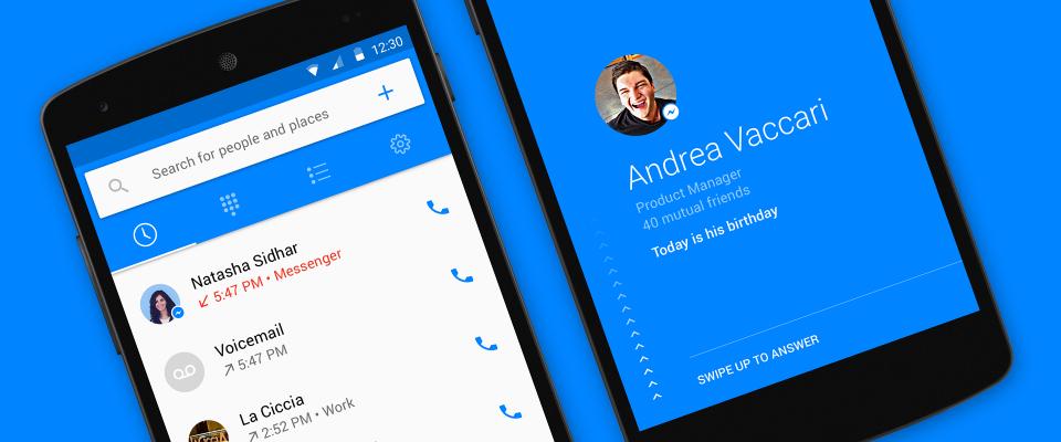 Facebook Hellо —огромная справочная книга социальной сети на вашем смартфоне