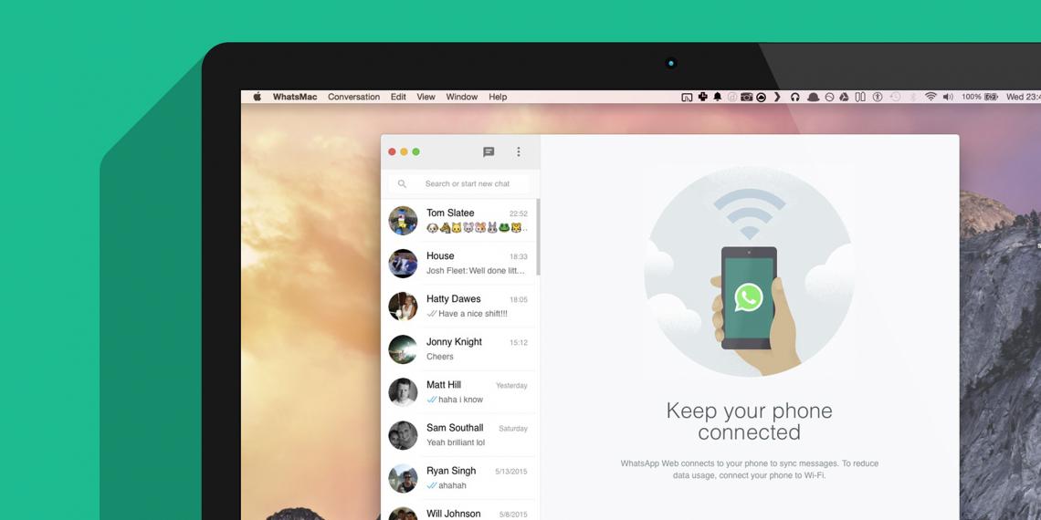 WhatsMac — клиент WhatsApp для владельцев Mac