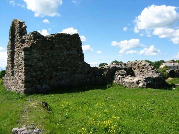 Руины в Резекне