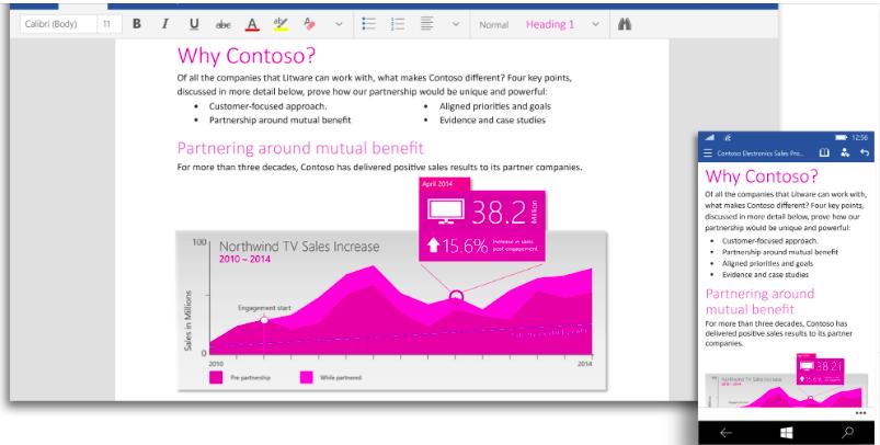 Microsoft выпустила публичную версию Office 2016 для Windows