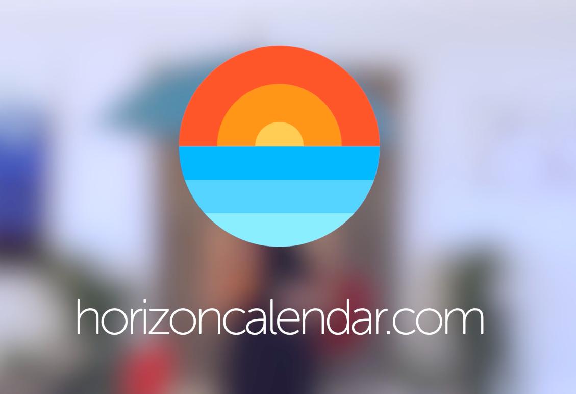 Horizon 3 для iOS —календарь и погода в одном приложении