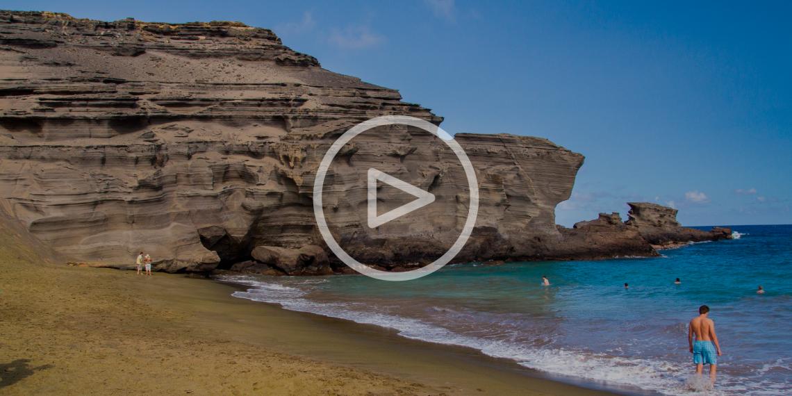 ВИДЕО: 5 цветных пляжей мира