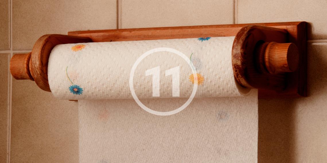 11 лайфхаков с использованием бумажных полотенец