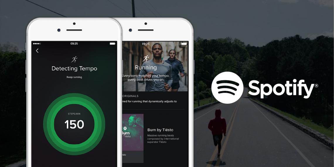 Spotify научился подбирать музыку под темп вашего бега, настроение и время суток