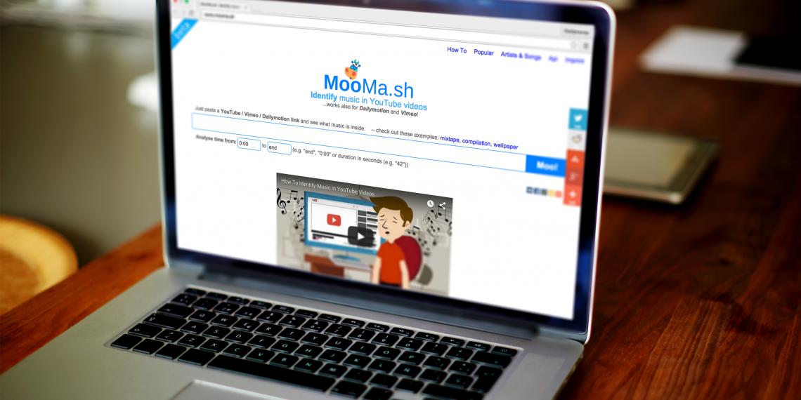 Moomash — альтернатива Shazam для распознавания музыки из видео