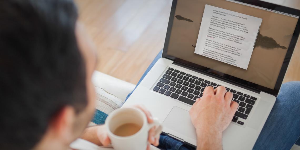 Paragraphs —минималистичный текстовый редактор для Mac с приятным ночным режимом