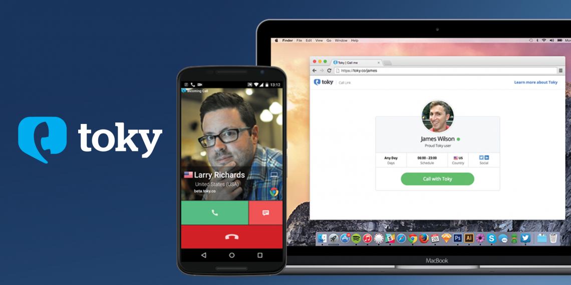 Toky — бесплатные изащищённыезвонки из окна браузера