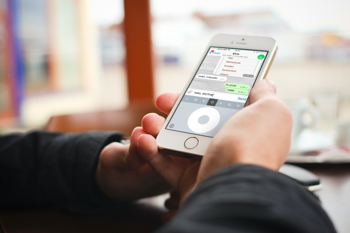 Click Wheel Keyboard — iOS-клавиатура для тех, кто хочет поностальгировать