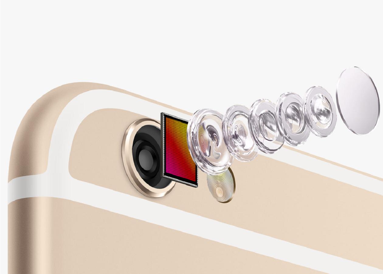 В камере iPhone 6s изменится размер пикселей