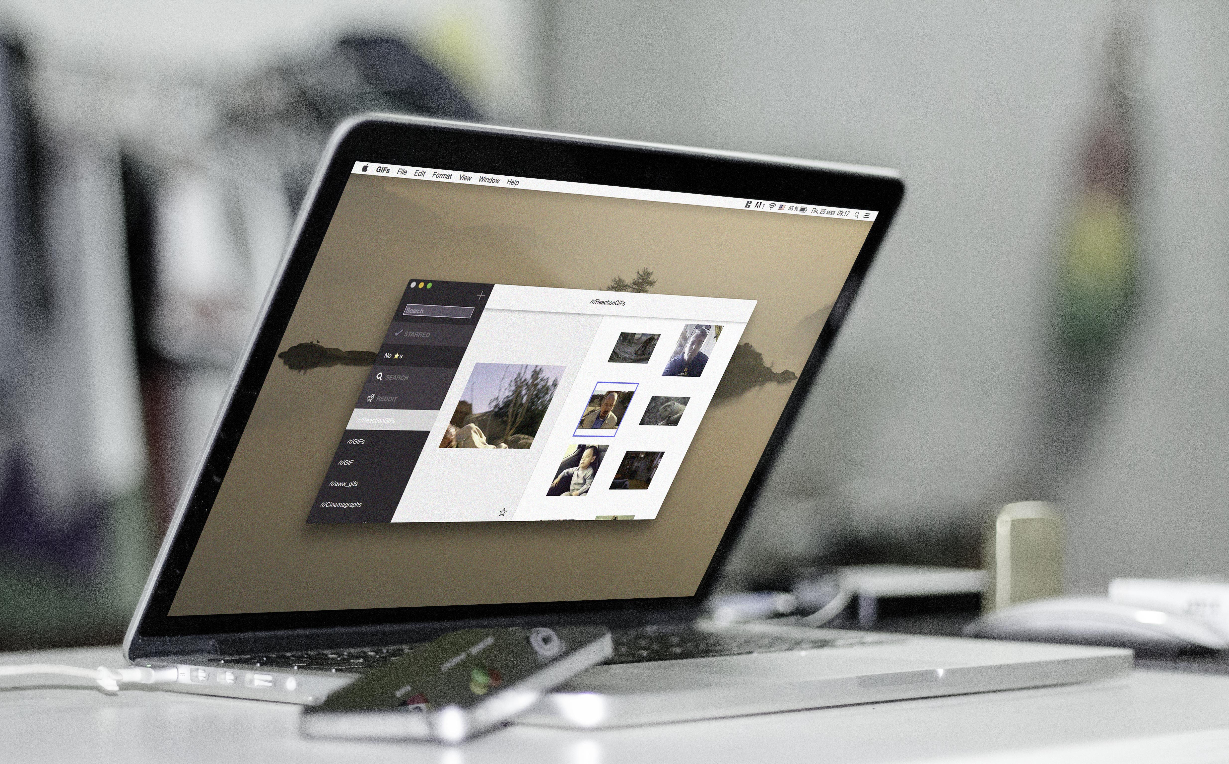 GIFs для Mac —запас крутых гифок всегда под рукой