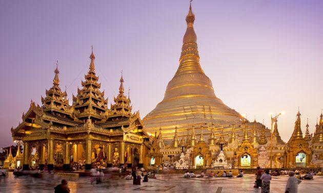 Shwedagon Pagoda, Maynmar