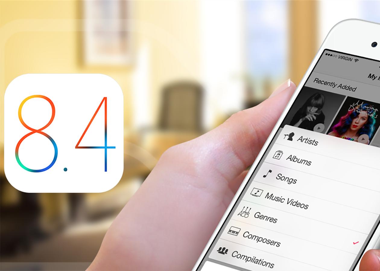iOS 8.4 с поддержкой Apple Music уже можно скачать