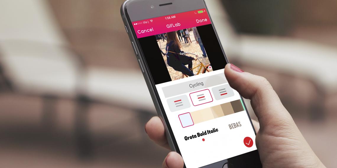 GifLab превращает видео в гифку на iPhone