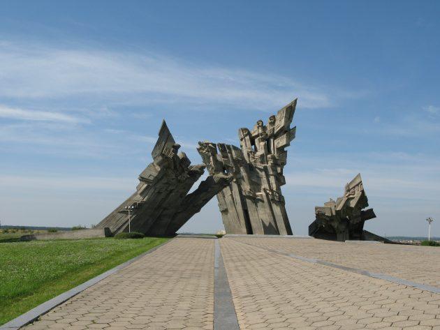 Литва, монумент