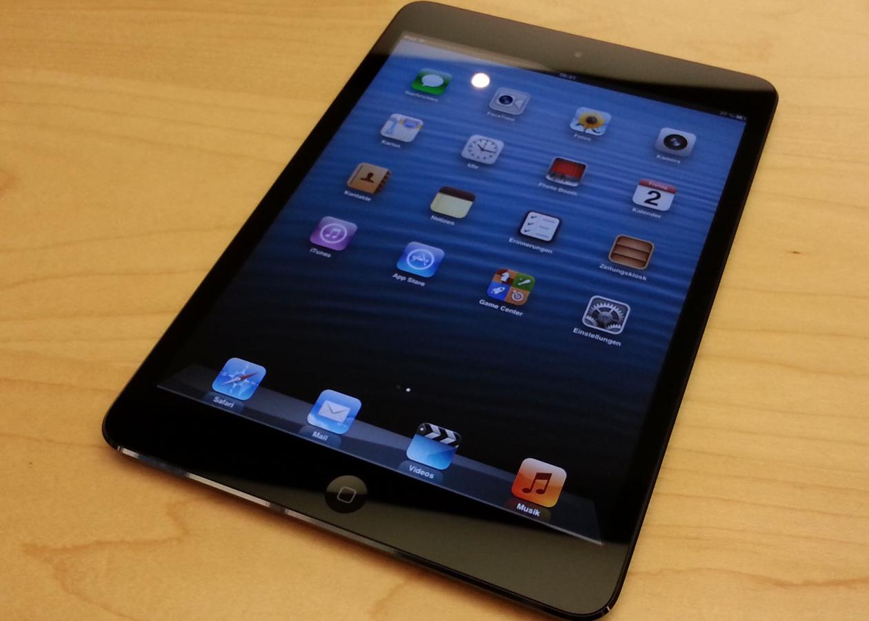 Apple убрала iPad mini с официального сайта