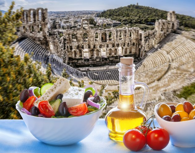 Гастрономический тур в Афины